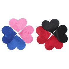Heart Shaped Disposable Strapless Backless Nipple Cover Sticker Bra Pad