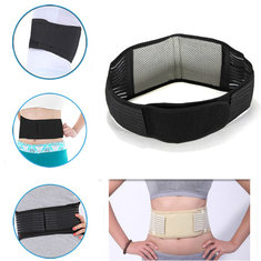 Tourmaline Far Infrared Ray Self Heating Health Waist Belt Support Strap