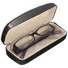 PU Leather Hard Case Box for Riding Eyeglasses Sun Glassess Reading Glasses