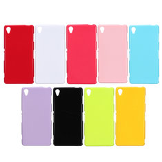 Ultra Slim Glossy Jelly TPU Gel Back Cover Case For Sony Xperia Z3