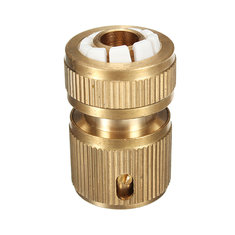 Brass Car Gardening Washing Hose Pipe Connector Water Plumbing
