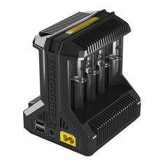 Nitecore i8 Multi-Slot 5V USB Intelligent Charger For Li-ion/IMR/Ni-MH Battery