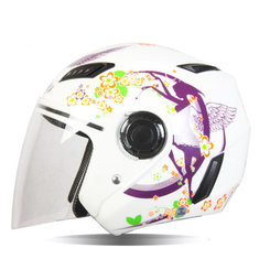 Motorcycle Semi-Packed Helmet Four Seasons Light Weight Helmets For NENKI