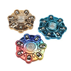 Colorful Fidget Hand Spinner Focus Attention EDC Reduce Stress Toys