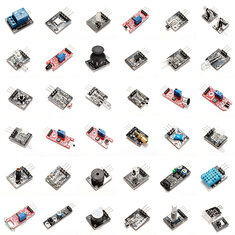 Geekcreit® 37 In 1 Sensor Module Board Set Kit For Arduino Plastic Bag Package
