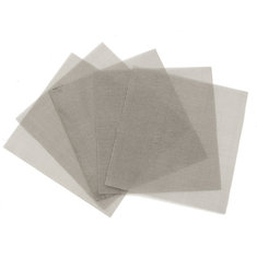 5Pcs 10x10cm Woven Wire Stainless Steel Filtration Grill Sheet Filter 120 Mesh