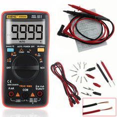 ANENG AN8009 True RMS NCV Digital Multimeter 9999 Counts Backlight AC/DC Current Voltage Resistance Frequency Capacitance Temperature Tester ℃/℉