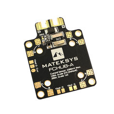 Matek System FCHUB-A with 120A 200A Current Sensor Module for F411 Mini F4 Flight Controller