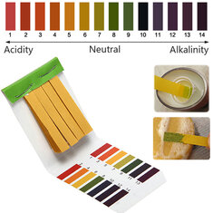 1-14 PH Alkaline Acid Test Paper Water Litmus Testing Kit