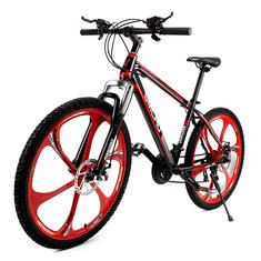 26 X 17inch Mountain Bike 21 Speed High Carbon Steel Frame Damping Bike Bicycle Cycling