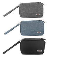 BUBM Portable Nylon Handle Handheld Bag Storage Box Case for Nintendo New 2DS LL