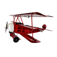 Fokker Dr.I Complete Version 770mm Wingspan Balsa Wood Triplane Warbird RC Airplane