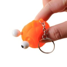 Squeeze Spoof Toy Stress Reliever Toy With Key Chain