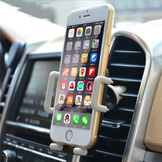 Universal 360 Degree Rotation Car Air Vent Phone Holder Stand for iPhone Xiaomi Samsung Mobile Phone