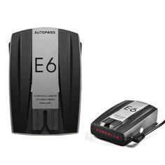 E6 Full Band 360 Degree Scanning Car GPS Speed Safety Radar Detector Voice Alert Tool