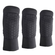 Honeycomb Knee Leg Sports Brace Support Sleeve Protector Basketball Volleyball Kneepad