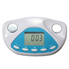 Digital LCD Body Fat Analyzer Monitor Meter BMI Weight Loss Calculator