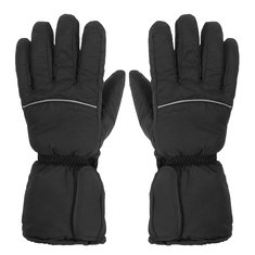 Heated Gloves Battery Power Motorcycle Hunting Winter Warm Outdoor Black