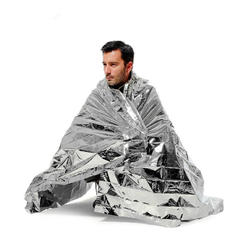 210 x 130CM Camping Emergency Blanket First Aid Rescue Foil Thermal Insulation Mat Shelter Outdoor Survival