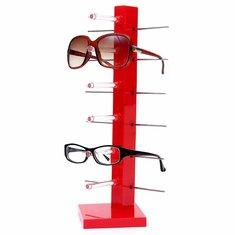 Fashion 6 Pair Sunglasses Eye Glasses Frame Rack Spectacle Eyewear Holder Stand Display Holder