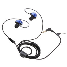UiiSii CM5 Double Axis Graphene Wired In-ear Earphone Headphone with Volume Control Microphone