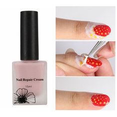 Nail Art Repair Cream Polish Peel Off Liquid Tape Base Coat Anti-overflow Skin Protected 15ml