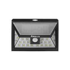 ARILUX® AL-SL09 Solar Power 24 LED Waterproof PIR Motion Sensor Light Outdoor Wide Angle Wall Lamp