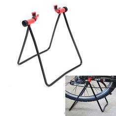 Bike Bicycle Stand Parking Kickstand Foldind Wheel Stand Support Rack Adjustable