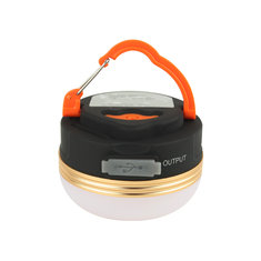 1800mAh Power Bank Camping Light Magnet 3 Modes Lantern Rechargeable Portable LED USB Tent Lamp