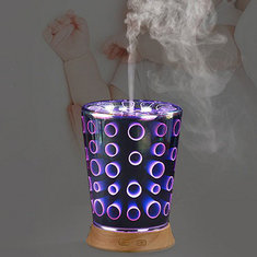 Essential Oil Aroma Diffuser Ultrasonic Humidifier Aromatherapy 3D Effect