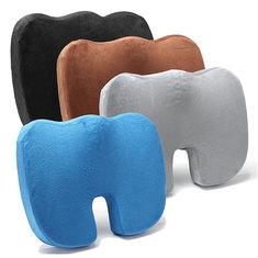 Coccyx Orthopedic Squishies Squishy Gel-enhanced Comfort Memory Foam Seat Cushion Car Travel