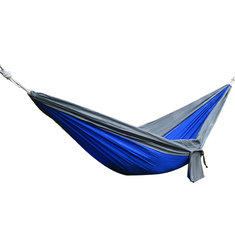 IPRee™ 270x140CM Portable Parachute Hammock Nylon Double Swing Bed For Camping Hiking Travel