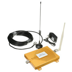 CDMA PCS 850-1900MHz Dual Band Cell Phone Signal Booster Repeater Amplifier With Antenna