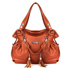 Women Retro Tassel Bags Ladies Casual Shoulder Bags