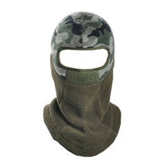 Unisex Outdoor Warm Windproof CS Fleece Cap Cheek Mask Hat Riding Skiing Hat Hood