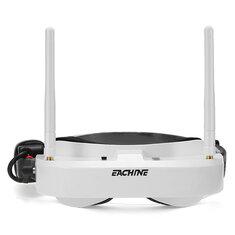 Eachine EV100 720*540 Óculos de Proteção 5,8G 72CH FPV com Ventilador de Antenas Duplas 7,4V 1000mAh Bateria
