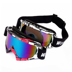 WOLFBIKE Unisex Riding Glasses Goggles Windproof Glasses Goggles Two Colors