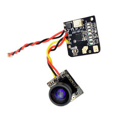 5.8G 700TVL Wide Angle 25mw 48CH Transmitter Camera NTSC/PAL Combo for FPV Multicopters