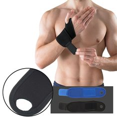 SBR Weight Lifting Basketball Wrist Wrap Bandage Hand Support Strap Brace Band Gym Training
