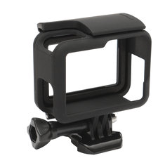 Black Protective Housing Case Shell Border Frame Mount For GoPro Hero 5 Camera