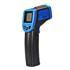 ST600 -32-600℃ Non-Contact Laser LCD Display Digital IR Infrared Thermometer Temperature Meter Gun