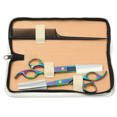 Professional Barber Hair Cutting Thinning Scissors Shears Hairdressing Set