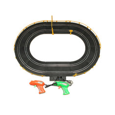 HZ Wire Control Electromagnetic Racing Car Track Toy Double Competitive Toys