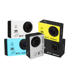 Winksoar SJ8000 Waterproof 2.0 Inch LCD 4K HD WiFi Sports DV Action Camera with Remote Control