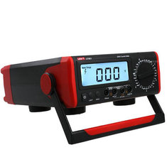 UNI-T UT801 LCD Display Desktop Digital Multimeter with AC/DC Current Voltage Tester