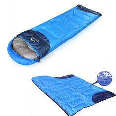 Camping Hiking Tent Single Sleeping Bag Folding Cotton Sleeping Bag For Adult Travel Slumber