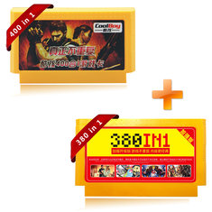 Coolboy 400 in 1 and 380 in 1 8 Bit FC NES Game Cartridge Classical Game Card