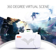 RITECH III VR Virtual Reality 3D Glasses With AR Google Cardboard for 3.5 to 6 inch Smartphone