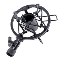 Mic Microphone Shock Mount Stand Holder Mount Clips for Studio Sound Recording