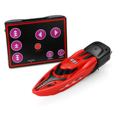 TL 981 3CH Mini Racing RC Boat With LED Light Infrared Electric Remote Control Toys